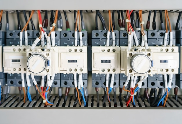 Circuit breaker and magnetic in a electrical switchboard