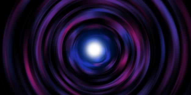 円形ライトライン回転レーザー光バーストレーザー光スパイラル3dイラスト