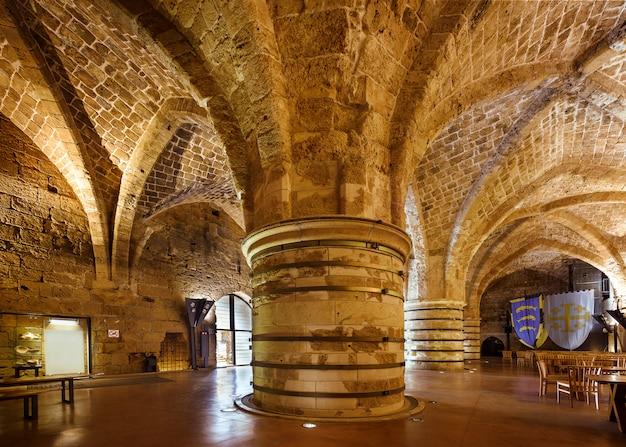 Citadel in akko, akre, acre, saint jean d'acre, israel, middle east