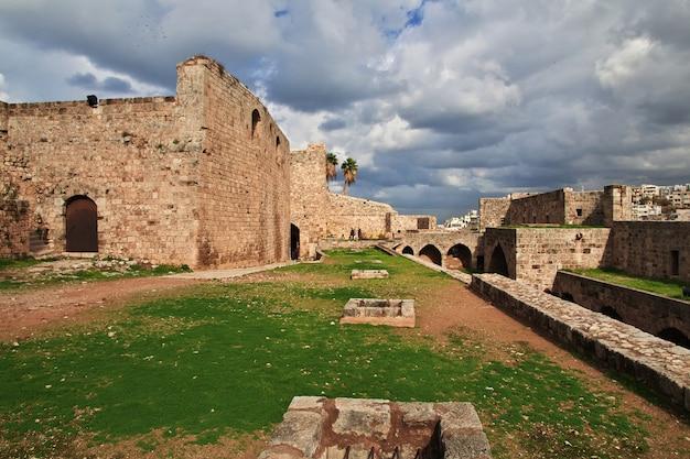 The citadel in center of tripoli, lebanon