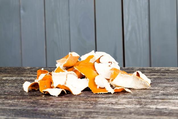 柑橘類の皮