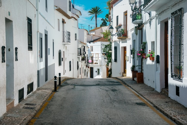City of altea, spain