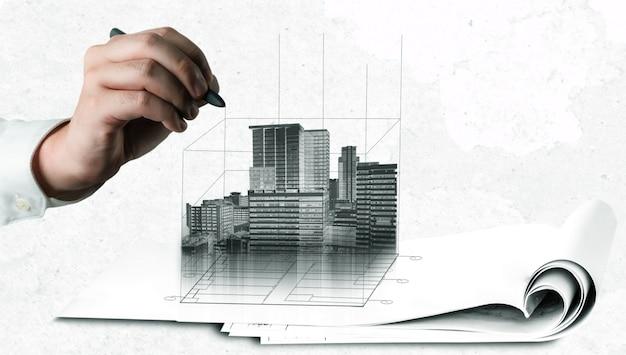 Городское гражданское планирование и девелопмент недвижимости.