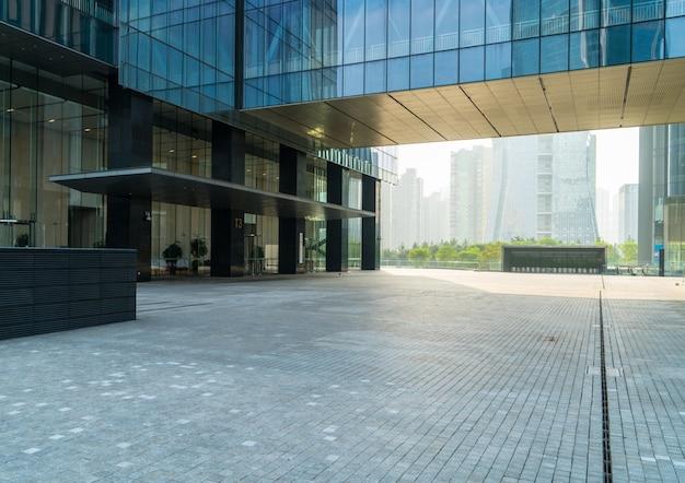 City commercial buildings