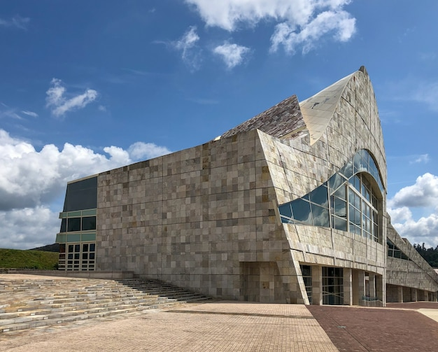 The city of culture of galicia is an architectural complex located in santiago de compostela