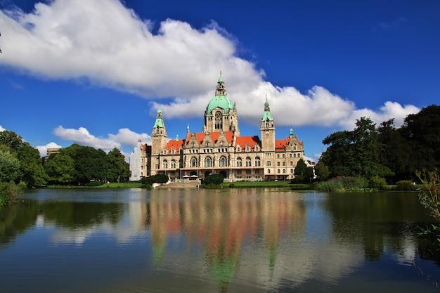 City hall in hanover, germany