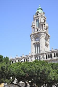 City hall in porto, portugal