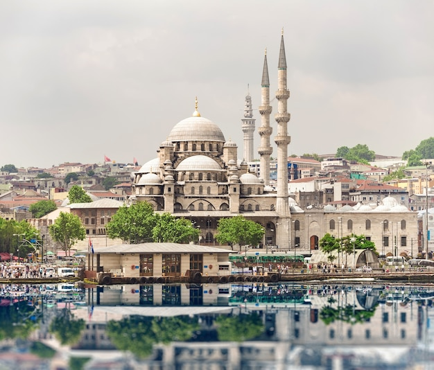 City landscape of istanbul, turkey