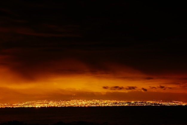 City on the night