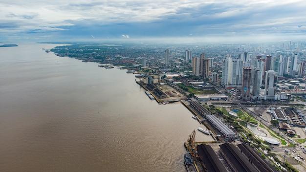 Город белен-ду-пара, к северу от бразилии
