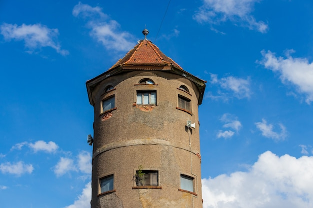 그바르데이스크 시 도시 풍경 급수탑