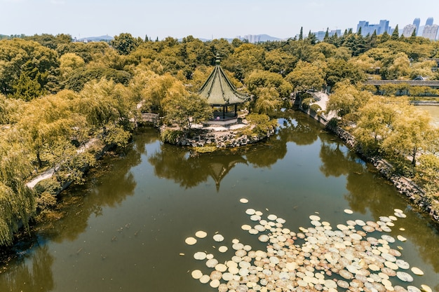 City park in china