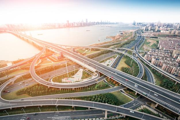 난창 중국의 도시 풍경.