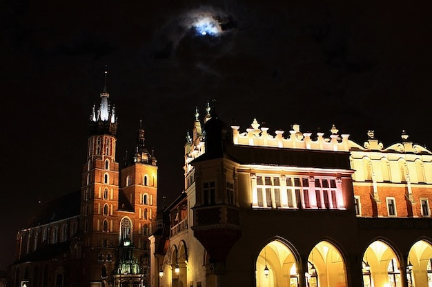 City town basilica poland cracow krakow old