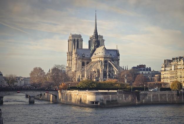 パリの街の景色