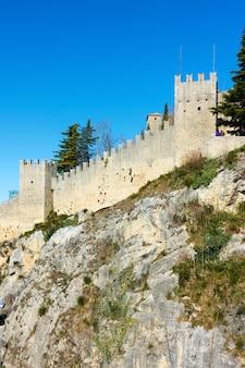 산마리노 공화국, 산마리노의 성벽