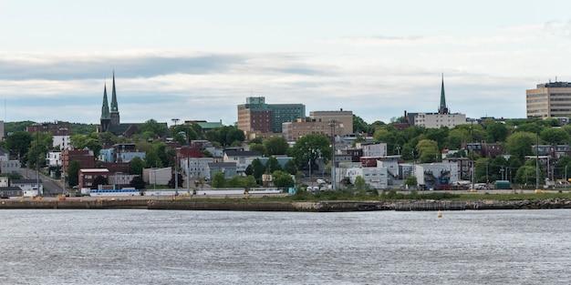 City at waterfront, saint john, new brunswick, canada