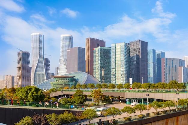 都市景観宇宙地面のスカイライン