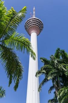Cityscape of kuala lumpur - kl tower.  kuala lumpur is capital of malaysia