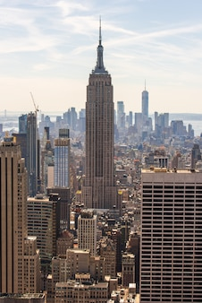 Cityscape of the new york city