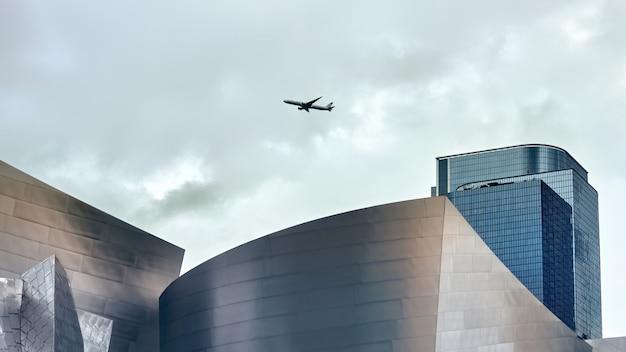 Городской пейзаж лос-анджелеса, сша