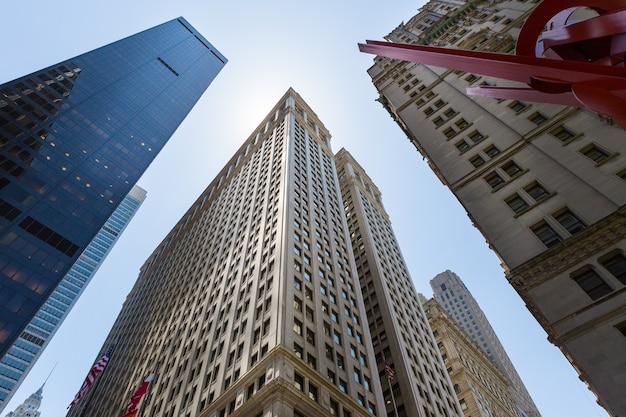 オフィスやワークセンターの街並み。