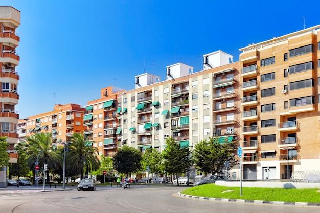 Городской пейзаж валенсии - третьего по численности населения города испании.