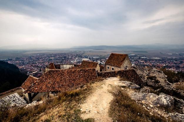 ラスノフ要塞の屋根からの街並み