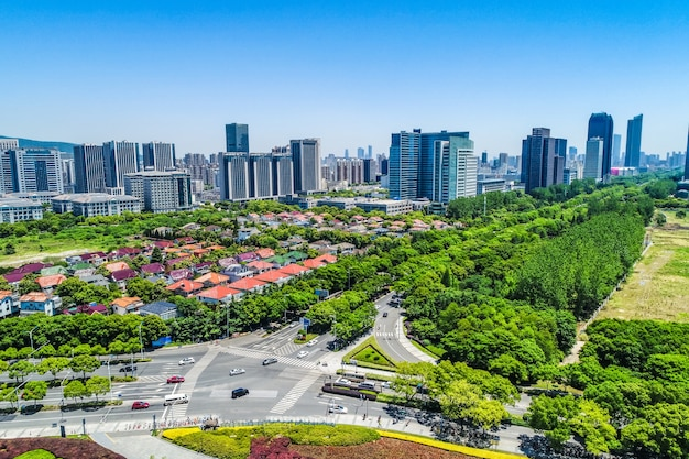 Cityscape of wuxi