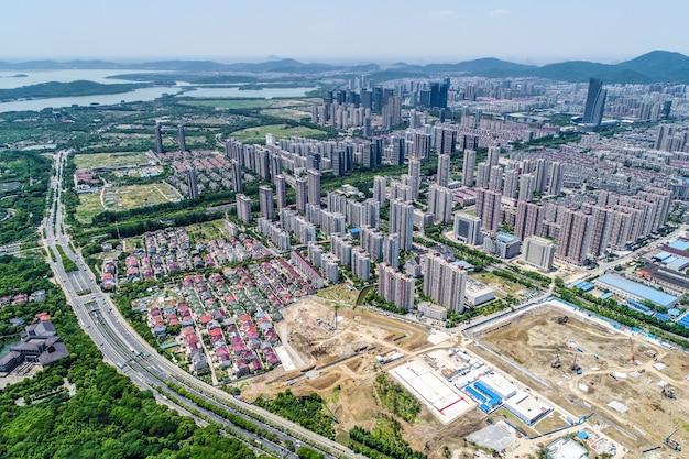 Paesaggio urbano di wuxi