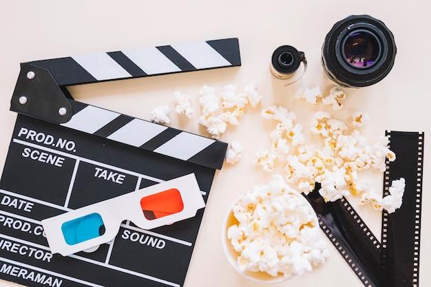 클래퍼 보드 및 필름 객체