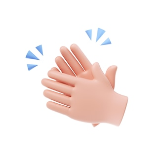 Clapping hands icon