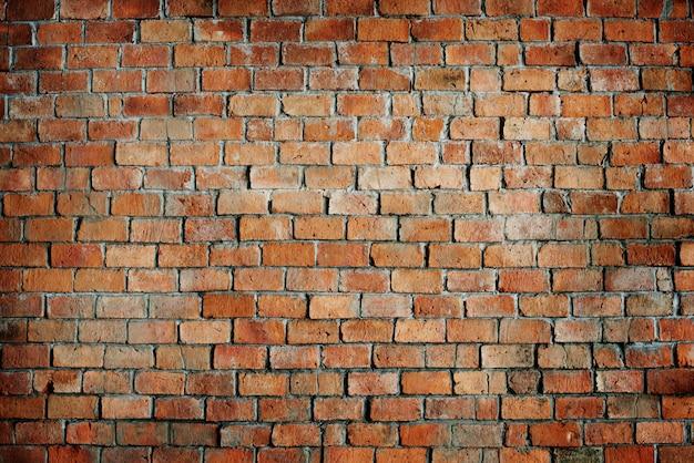 Классическая красивая текстурированная кирпичная стена