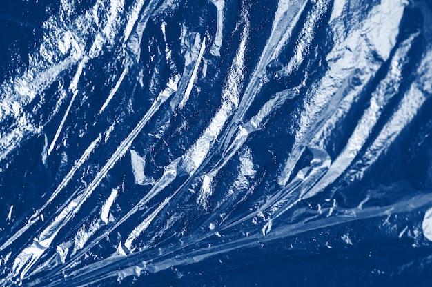 Classic blue plastic texture