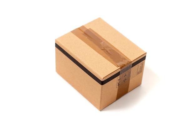 Classic cardboard box