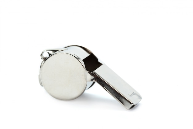 Classic coaches whistle