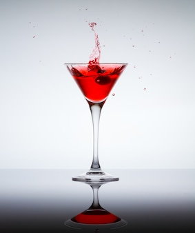 Classic contemporary cocktail. party drink concept