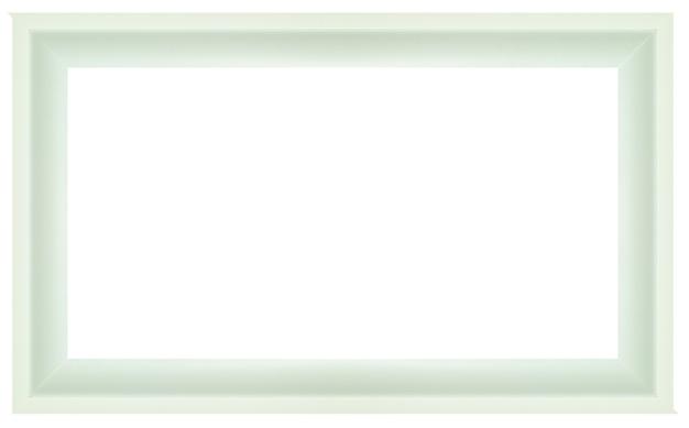 Классическая рамка, изолированные на белом фоне