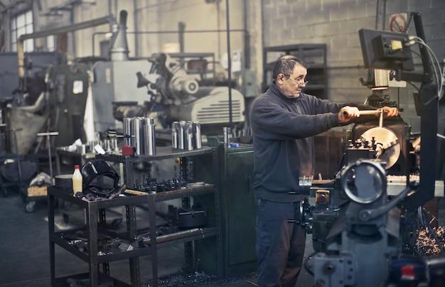 Classic industrial workshop