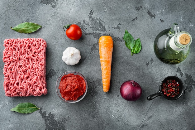 Классический итальянский соус болоньезе ингредиенты фарш из помидоров и зелени