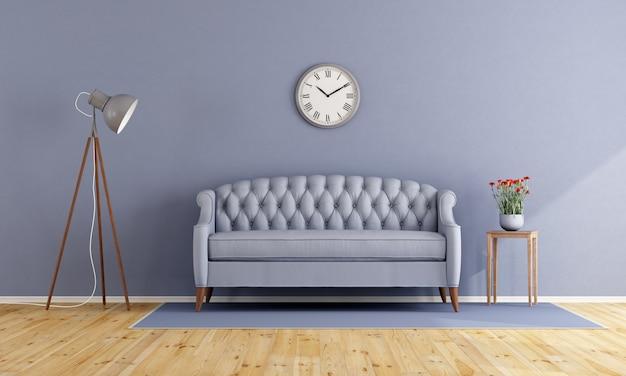 Classic lilac living room