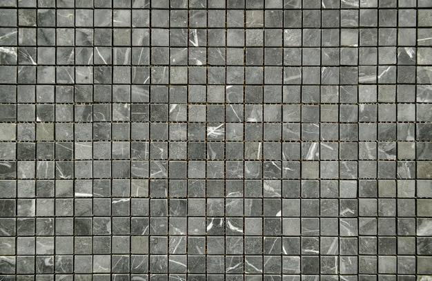 Classic mosaic tiles patterned wall