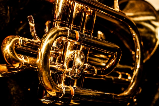 Classic musical cornet