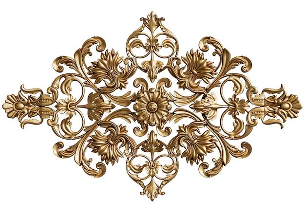 Classic ornament decor isolated