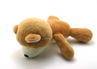 Классический плюшевый медведь, желтый