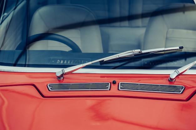 Classic vintage car exhibition