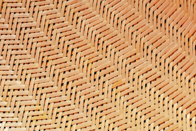 Classic woven bamboo texture