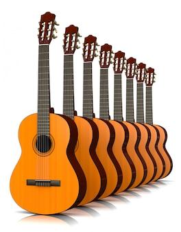Коллекция классических гитар