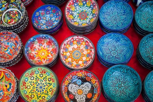 古典的なトルコの陶磁器