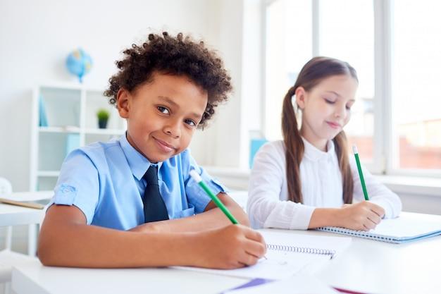 Classmates drawing